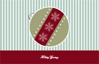 Happyholidays2 Greeting Card (55x85)